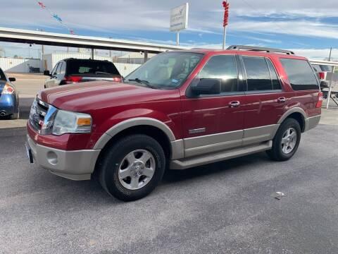2007 Ford Expedition for sale at Kann Enterprises Inc. in Lovington NM