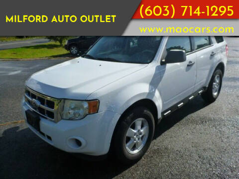2010 Ford Escape for sale at Milford Auto Outlet in Milford NH