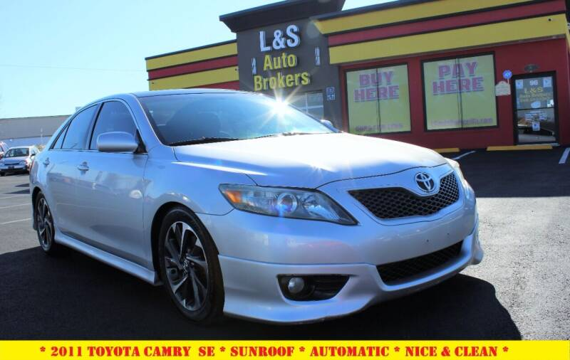 2011 Toyota Camry for sale at L & S AUTO BROKERS in Fredericksburg VA