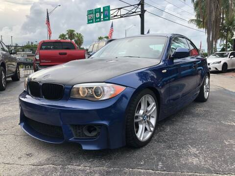 2013 BMW 1 Series for sale at Gtr Motors in Fort Lauderdale FL