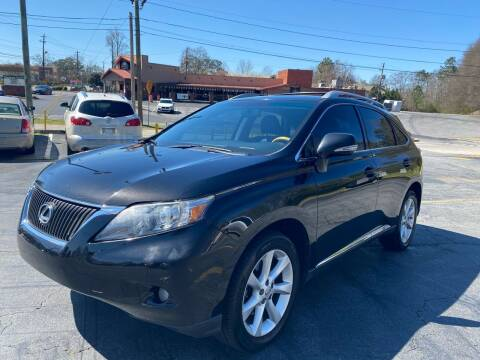 2011 Lexus RX 350 for sale at Peach Auto Sales in Smyrna GA