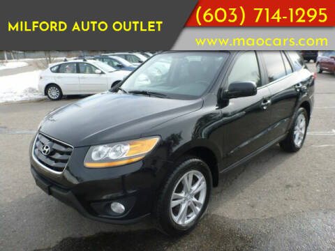 2011 Hyundai Santa Fe for sale at Milford Auto Outlet in Milford NH