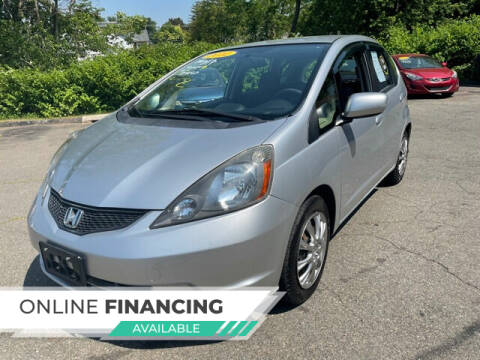 2012 Honda Fit for sale at VERNON MOTOR CARS in Vernon Rockville CT