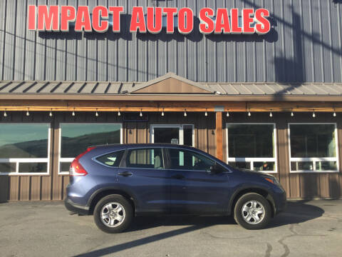 2014 Honda CR-V for sale at Impact Auto Sales in Wenatchee WA