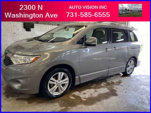 2012 Nissan Quest for sale at Auto Vision Inc. in Brownsville TN