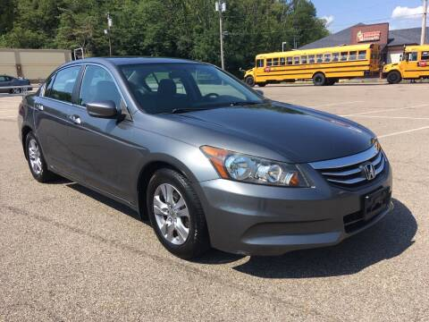 2012 Honda Accord for sale at Borderline Auto Sales in Loveland OH