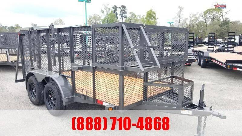 "2021 C-5 76"" X 12' Landscape Trailer for sale at Montgomery Trailer Sales in Conroe TX"