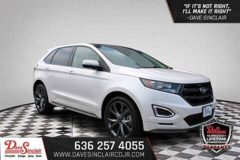 2016 Ford Edge for sale at Dave Sinclair Chrysler Dodge Jeep Ram in Pacific MO