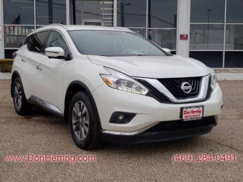 2016 Nissan Murano for sale at Don Herring Mitsubishi in Dallas TX