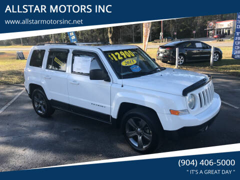 2015 Jeep Patriot for sale at ALLSTAR MOTORS INC in Middleburg FL