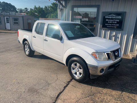2009 Nissan Frontier for sale at Rutledge Auto Group in Palestine TX