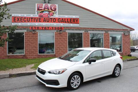 2020 Subaru Impreza for sale at EXECUTIVE AUTO GALLERY INC in Walnutport PA