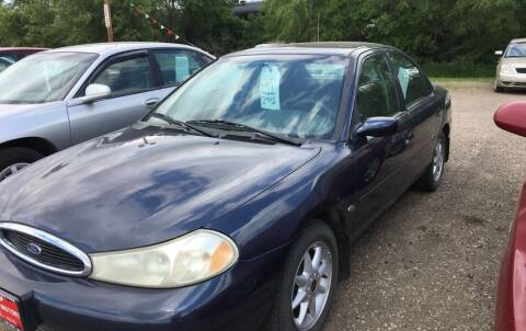 1999 Ford Contour for sale at BARNES AUTO SALES in Mandan ND