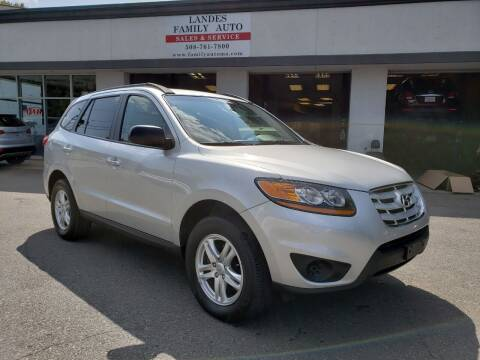 2012 Hyundai Santa Fe for sale at Landes Family Auto Sales in Attleboro MA