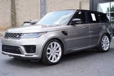 2019 Land Rover Range Rover Sport for sale at BMW of Schererville in Schererville IN