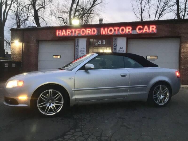 2009 Audi A4 for sale at HARTFORD MOTOR CAR in Hartford CT