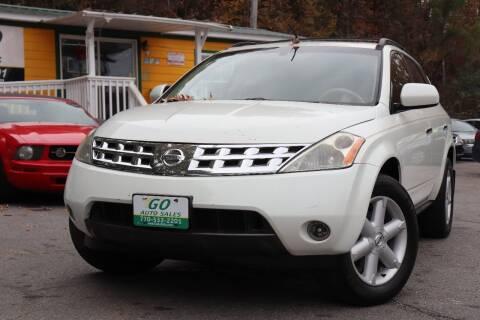 2004 Nissan Murano for sale at Go Auto Sales in Gainesville GA