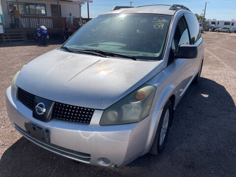 2004 Nissan Quest for sale at PYRAMID MOTORS - Fountain Lot in Fountain CO