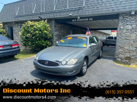 2007 Buick LaCrosse for sale at Discount Motors Inc in Old Hickory TN