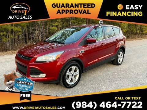 2014 Ford Escape for sale at Drive 1 Auto Sales in Wake Forest NC