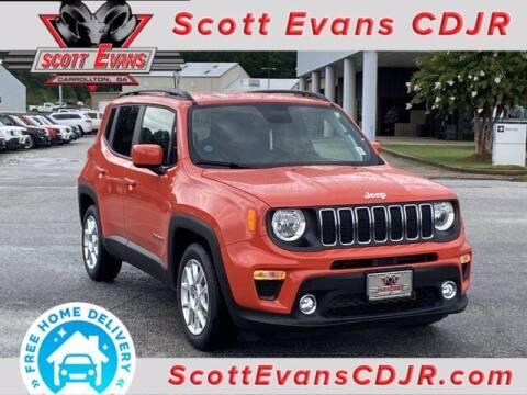 2020 Jeep Renegade for sale at SCOTT EVANS CHRYSLER DODGE in Carrollton GA