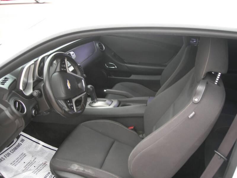 2013 Chevrolet Camaro LT 2dr Coupe w/1LT - Colorado Springs CO