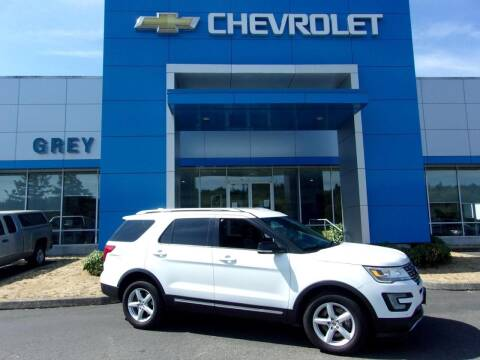 2016 Ford Explorer for sale at Grey Chevrolet, Inc. in Port Orchard WA