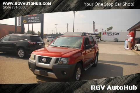 2011 Nissan Xterra for sale at RGV AutoHub in Harlingen TX