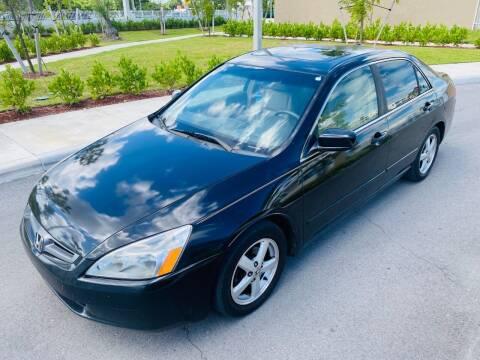 2005 Honda Accord for sale at LA Motors Miami in Miami FL