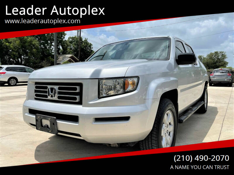 2006 Honda Ridgeline for sale at Leader Autoplex in San Antonio TX