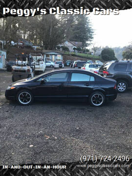 2008 Honda Civic for sale at Peggy's Classic Cars in Oregon City OR