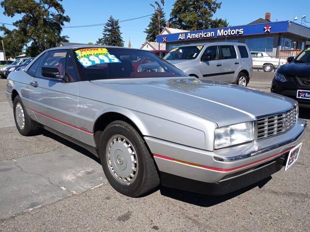 1987 Cadillac Allante for sale at All American Motors in Tacoma WA