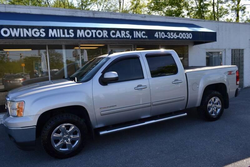2011 GMC Sierra 1500 for sale at Owings Mills Motor Cars in Owings Mills MD