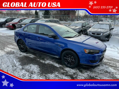 2017 Mitsubishi Lancer for sale at GLOBAL AUTO USA in Saint Paul MN