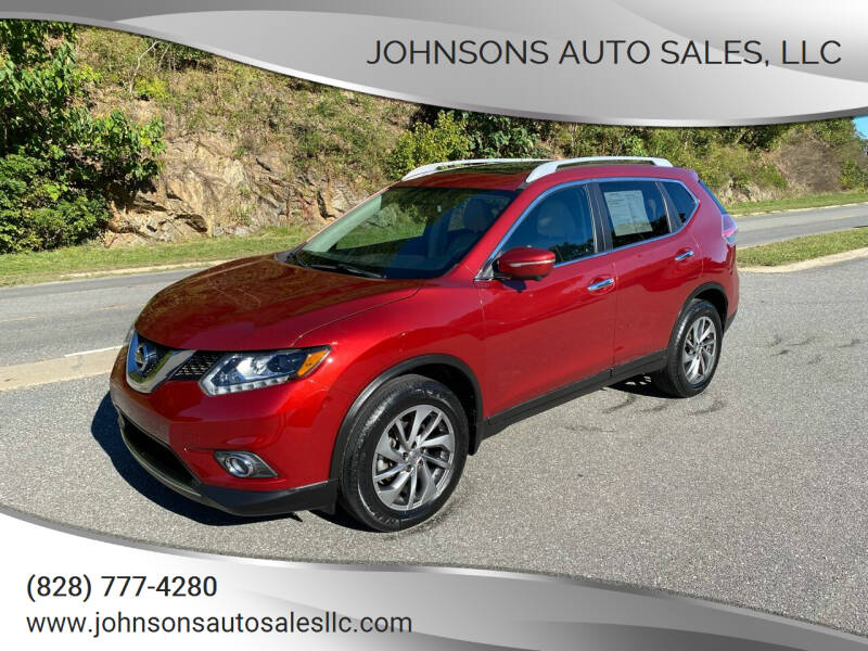 2015 Nissan Rogue for sale at Johnsons Auto Sales, LLC in Marshall NC