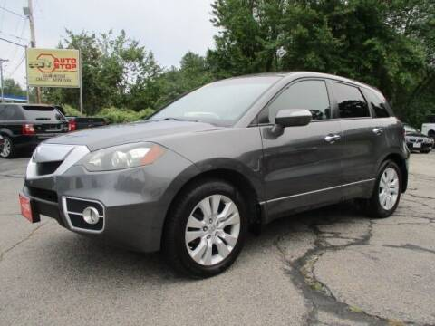 2010 Acura RDX for sale at AUTO STOP INC. in Pelham NH
