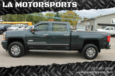 2019 Chevrolet Silverado 3500HD for sale at LA MOTORSPORTS in Windom MN