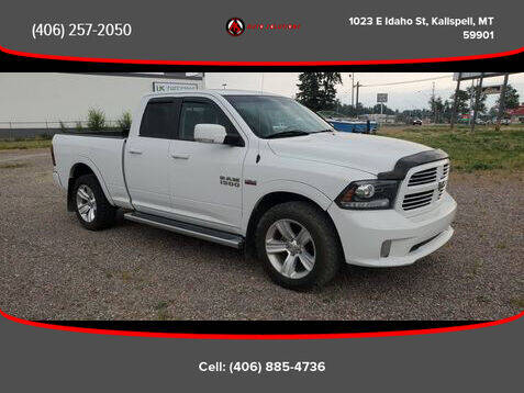 2014 RAM Ram Pickup 1500 for sale at Auto Solutions in Kalispell MT