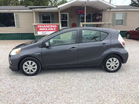 2012 Toyota Prius c for sale at Space & Rocket Auto Sales in Hazel Green AL