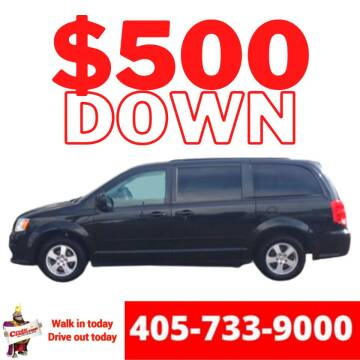 2012 Dodge Grand Caravan for sale at Credit Connection Auto Sales in Midwest City OK