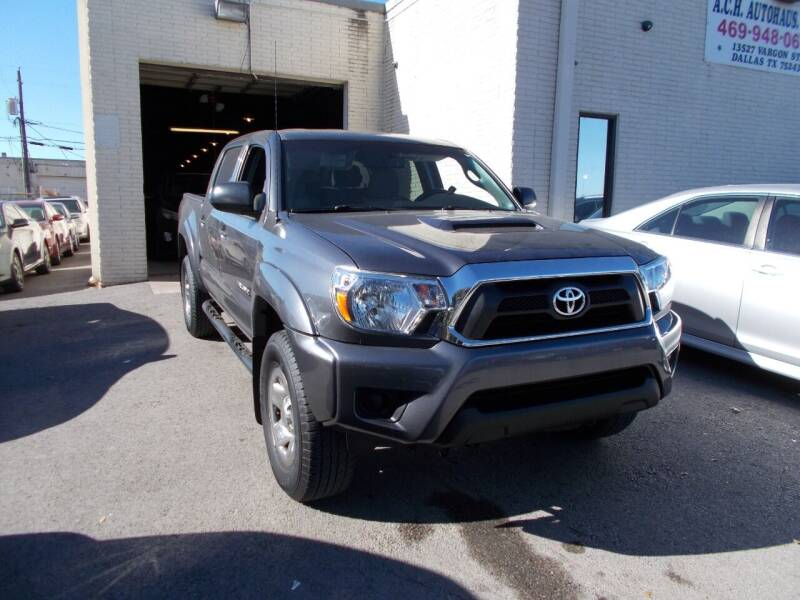 2013 Toyota Tacoma for sale at ACH AutoHaus in Dallas TX