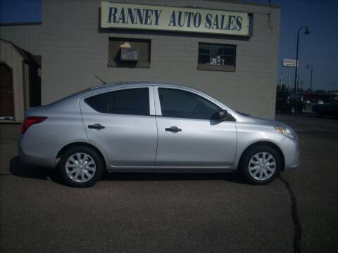 2013 Nissan Versa for sale at Ranney's Auto Sales in Eau Claire WI