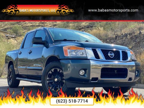 2014 Nissan Titan for sale at Baba's Motorsports, LLC in Phoenix AZ