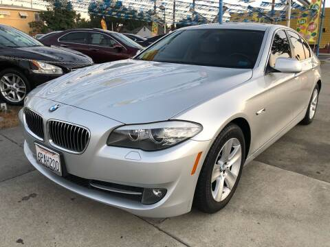 2012 BMW 5 Series for sale at Plaza Auto Sales in Los Angeles CA
