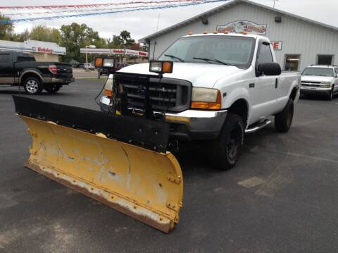 2001 Ford F-250 Super Duty for sale at Steves Auto Sales in Cambridge MN