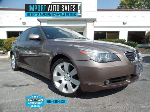 2007 BMW 5 Series for sale at IMPORT AUTO SALES in Knoxville TN
