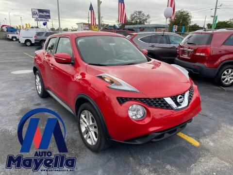 2016 Nissan JUKE for sale at Auto Mayella in Miami FL