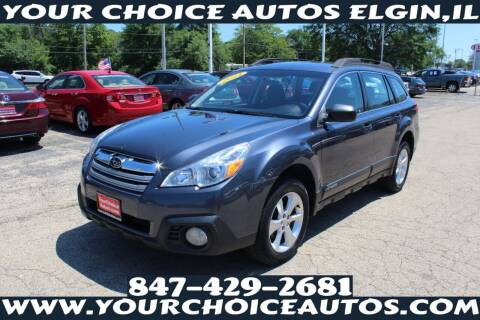 2014 Subaru Outback for sale at Your Choice Autos - Elgin in Elgin IL