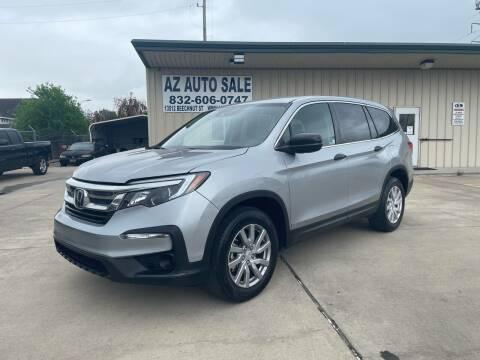 2019 Honda Pilot for sale at AZ Auto Sale in Houston TX