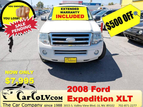 2008 Ford Expedition for sale at The Car Company in Las Vegas NV